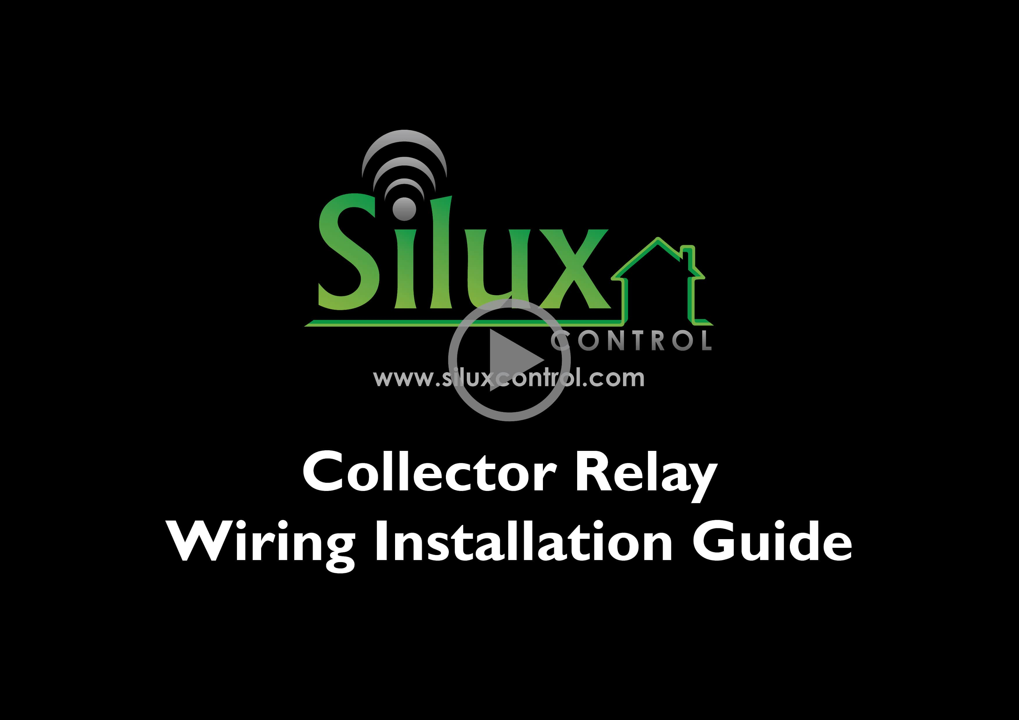 Silux control Collector Instructions